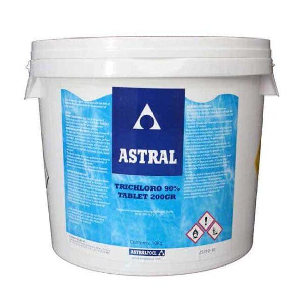Τρίχλωρο Κόκκος 10kg Χλώριο Πισίνας της Astralpool