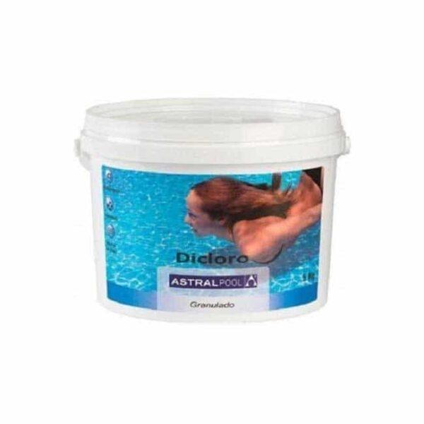 Χλώριο Πισίνας Δίχλωρο Κόκκοι 10kg της Astralpool
